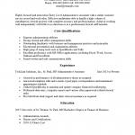 Entry Level High Student Resume Template