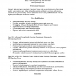 Oncology Nurse Resume Template