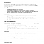 Project Manager Resume Template