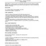 bartender no experience entry level resume template