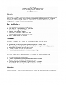 cust serv ass resume sample