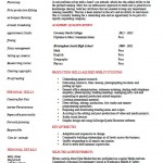 Entry Level Production Assistant Resume Template