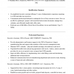Executive Administrative Assistant Resume Template