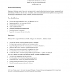 Free Business Analyst Resume Template | Examples | MS Word