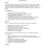 Customer Service Supervisor Resume Template