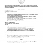 Telemetry Nurse Resume Template