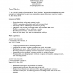Jewelry Sales Associate Resume Template