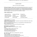 Professional Nanny Resume Template