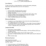 Legal Administrative Assistant Resume Template