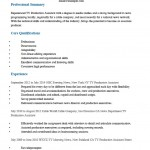 Television (TV) Production Assistant Resume Template